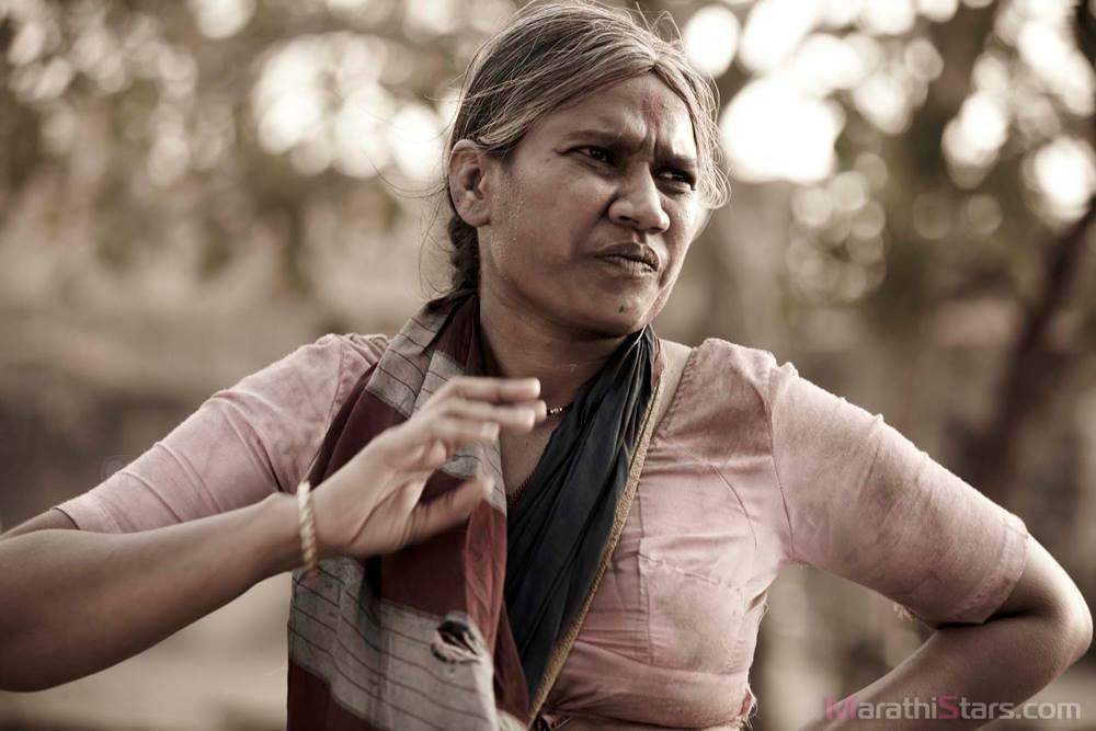 Actress Chaya kadam – Still From Marathi Movie Fandry