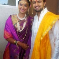 Shashank ketkar & Tejashree Pradhan