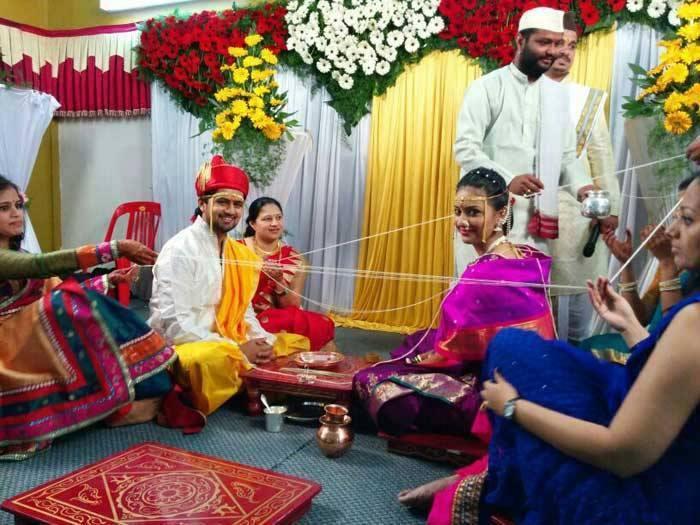 Tejashree Pradhan and Shashank Ketkar Marriage Photos, Wedding News