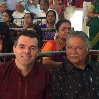 Vikram gokhale at  Shashank Ketkar & Tejashree pradhan Wedding