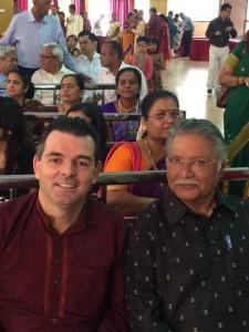 Vikram gokhale at  Shashank Ketkar & Tejashree pradhan Wedding