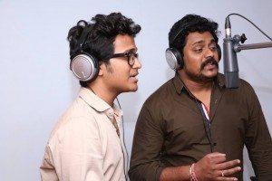 Shutter ka tala kisne hai khola Song Recording - Amitraj and Rohit Raut