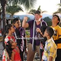 Actor Tom Alter in Marathi Film Daptar