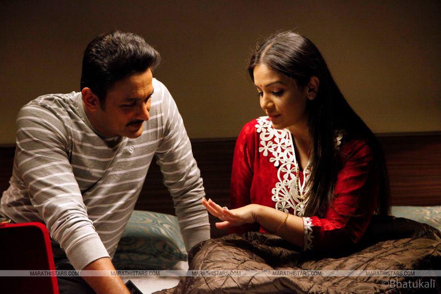 Ajinkya Deo & Shilpa Tulaskar - Bhatukali Still Photos