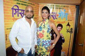 Producer Alok Shrivastava & Mrinmai  Kolwalkar