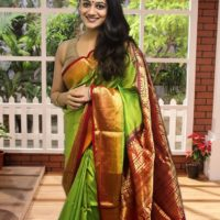 Spruha Joshi Latest Photo in saree