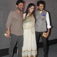 Nishikant kamat, Genelia Deshmukh, Riteish Deshmukh - Lai Bhaari Music Launch