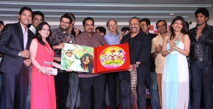 Music of Poshter Boyz launched in Mumbai