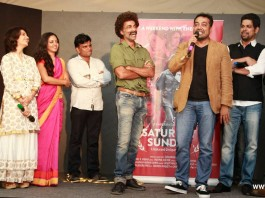 First Look of Saturday Sunday launched by Anurag Kashyap