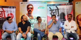 Marathi-Hindi Bhai : Rege & Singham Returns wish each other good luck
