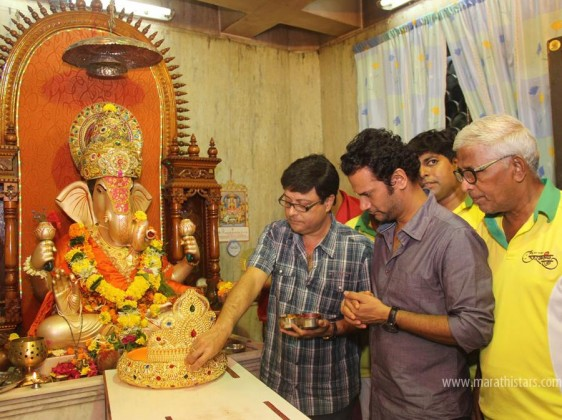 Sanngato Aika team Ganapati Sthapana Puja at Umarkhadi Cha Raja (2)