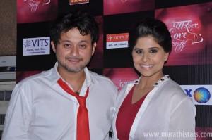 Swapnil Joshi and Sai Tamhankar