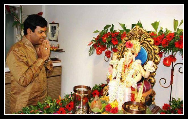 Bharat Jadhav - Celebrating Ganesha Chathurthi