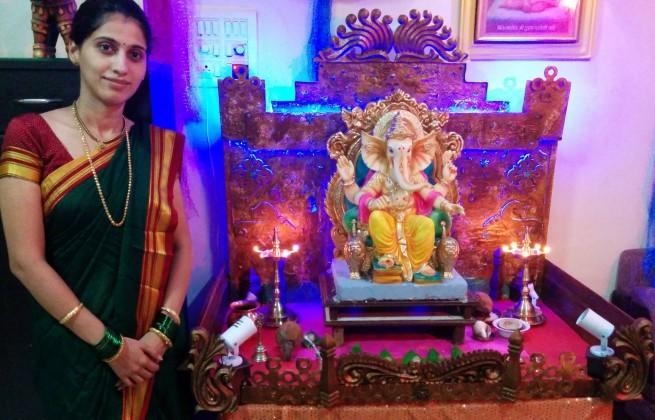 Manasi Kulkarni - Celebrating Ganesha Chathurthi