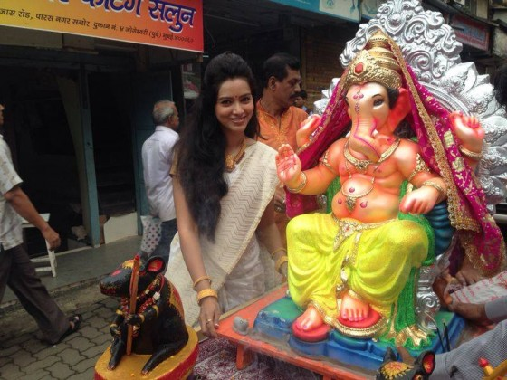 Pallavi Subhash - Celebrating Ganesha Chathurthi