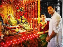 Shreyas talpade With Wife Deepti Talpade