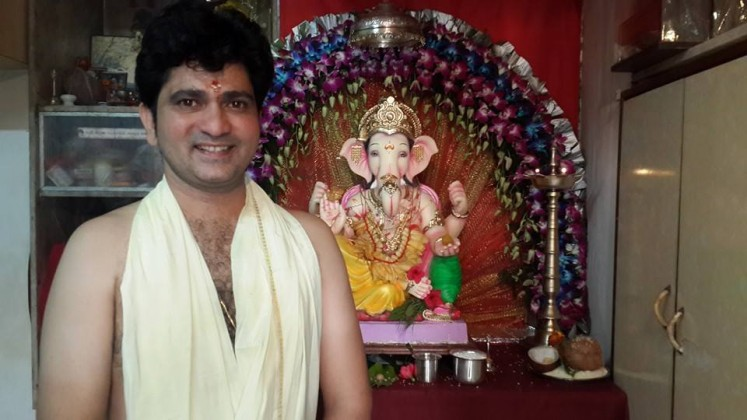 Sushant Shelar - Celebrating Ganesha Chathurthi