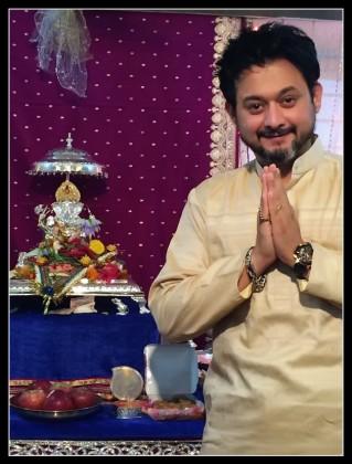 Swapnil Joshi - Celebrating Ganesha Chathurthi