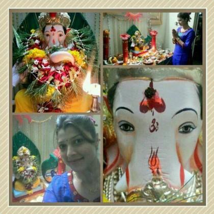 Twjaswini Pandit - Celebrating Ganesha Chathurthi