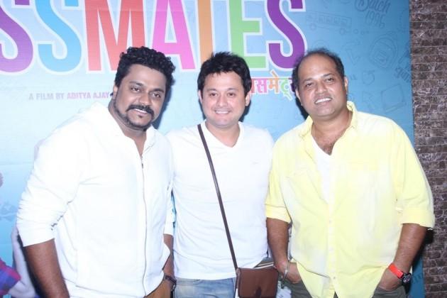 (L-R) Amitraj, Swapnil Joshi and Sanjay Jadhav