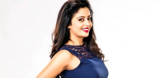"Neha Pendse in a glamorous avatar for ""Premasathi Coming Suun"""