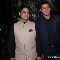 Producers Vaibhav Bhor and Abrar Nadiadwala