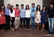 Zee Marathi Actors With happy Journey Team