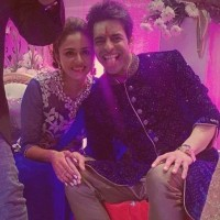 Amruta Khanvilkar with Husband Himmanshoo Ashok Malhotra
