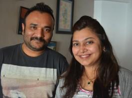 Vijay Maurya with Neha Rajpal.