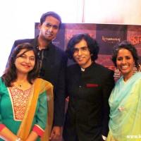 (L-R) Music Team Neha Rajpal, Shriram Iyer, Ajay Singha and Hamsika Iyer
