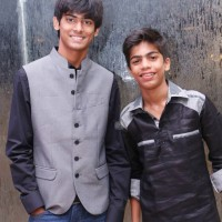 child actors Ashitosh Gaikwad and Aakash Banerjee
