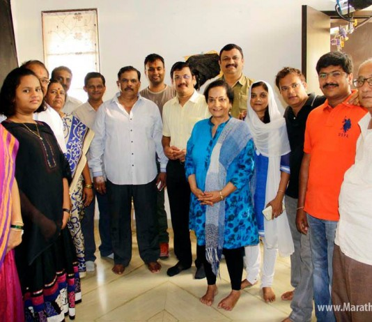Bhumi Entertainments first Indo-American Marathi film 'DOT COM MOM'!