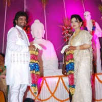Adarsh Shinde Marriage Photos