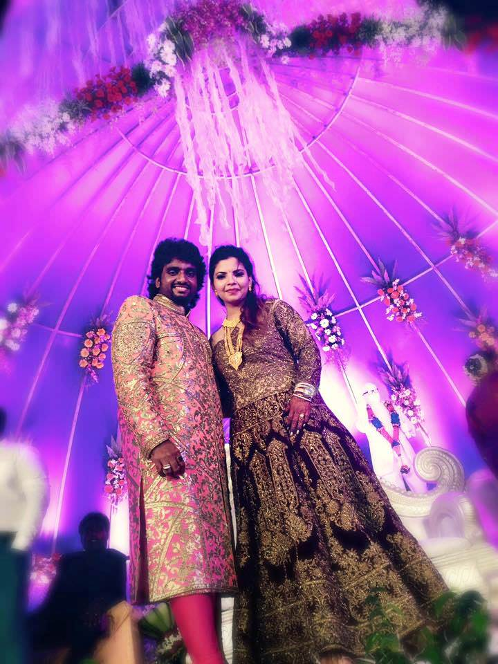 Adarsh Shinde Marathi Singer Marriage Wedding Photos Neha Lele