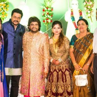Amitraj at Adarsh Shinde Wedding