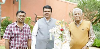 Muhurat of Dabba Gul by Maharashtra Chief Minister Devendra Fadanvis.