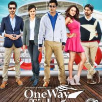 One Way Ticket Marathi Movie Poster