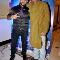 Producer Shreyash Jadhav along with National Award Director Rajesh Pinjani.
