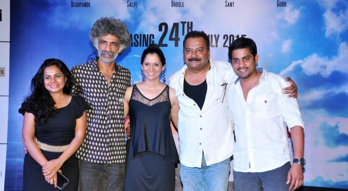 From left Amruta Sant, Makrand Deshpande, Samidha Guru, Nagesh Bhosle, Sangram Salvi