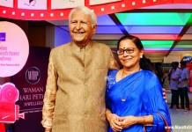 Ramesh Deo and Seema Deo at Goa Film Fest