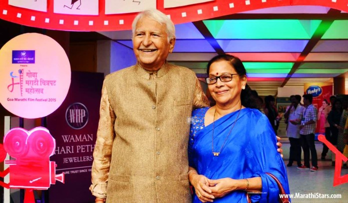Ramesh Deo and Seema Deo at Goa Film Fest