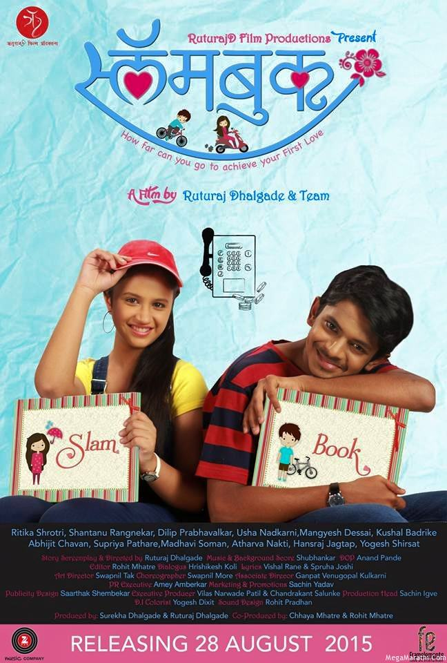 Slambook Marathi Movie Cast Trailer Release Date Actor