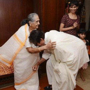 Sulochana Didi & Amitabh Bachchan
