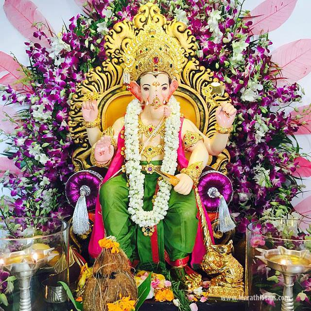 Ganpati makhar joy studio design gallery best design Home decoration tips in marathi