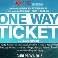 One Way Ticket Upcoming Marathi Movie