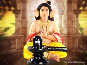 Ganesh With Shivling - Colors Marathi Serial