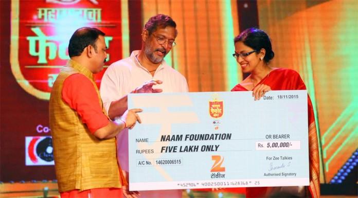 Nana Patekar, Makrand Anaspure, Naam Foundation