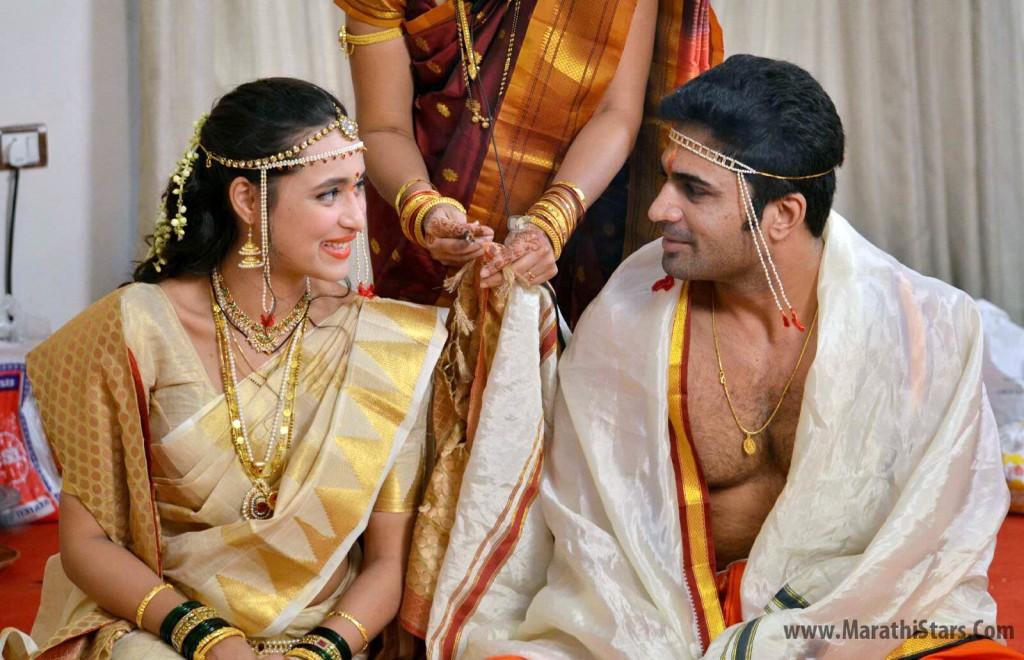 Chinmay Udgirkar and Girija Joshi Wedding Photos