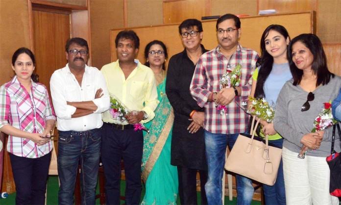 Marathi movie 'Family 420' recently done Muhurt short
