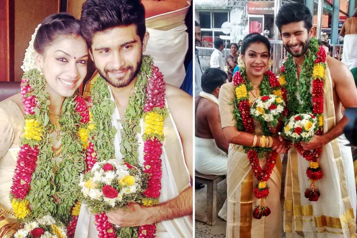 Actor Siddharth Menon - Marriage Photos